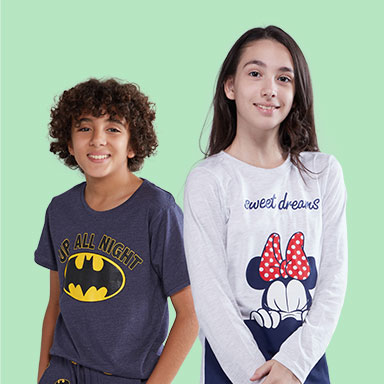 Girls' & boys' nightwear